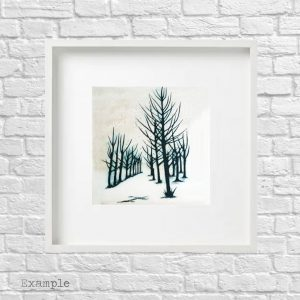 Coppice<br/>Framed Glass Large