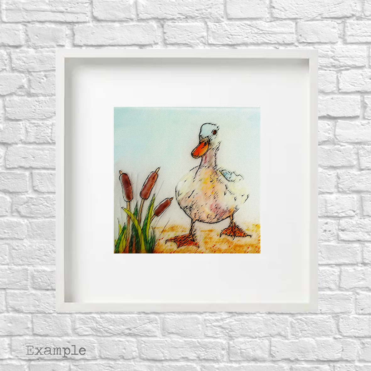 PS-duck-large-white-frame
