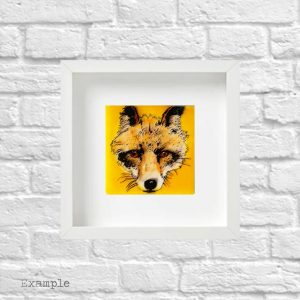 Fox<br/>Framed Glass Regular