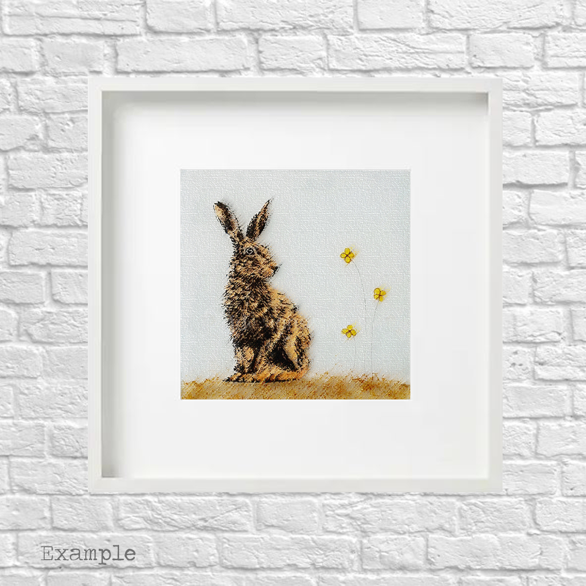 PS-hare-large-white-frame