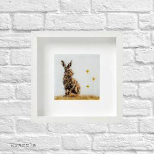 Hare<br/>Framed Glass
