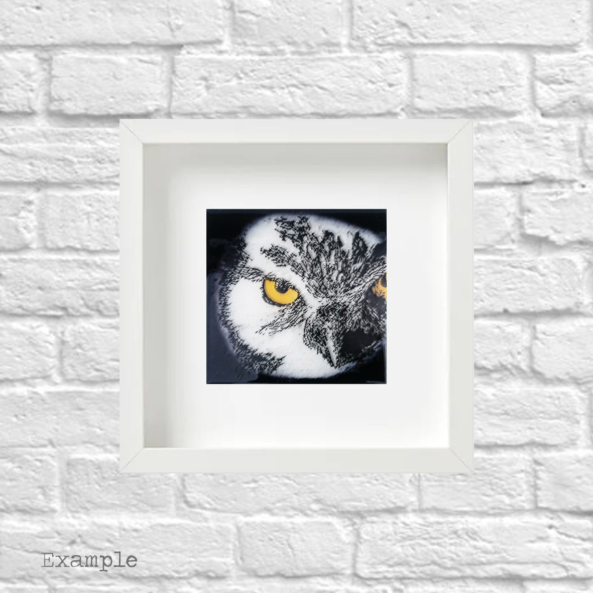 PS-owl-small-white-frame