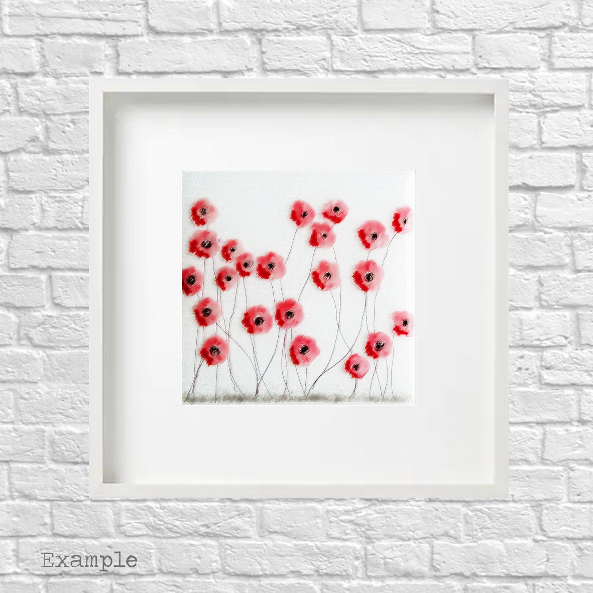PS-poppy-spray-large-white-frame