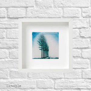 Tree Grove<br/>Framed Glass