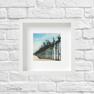 Tree Line<br/>Framed Glass