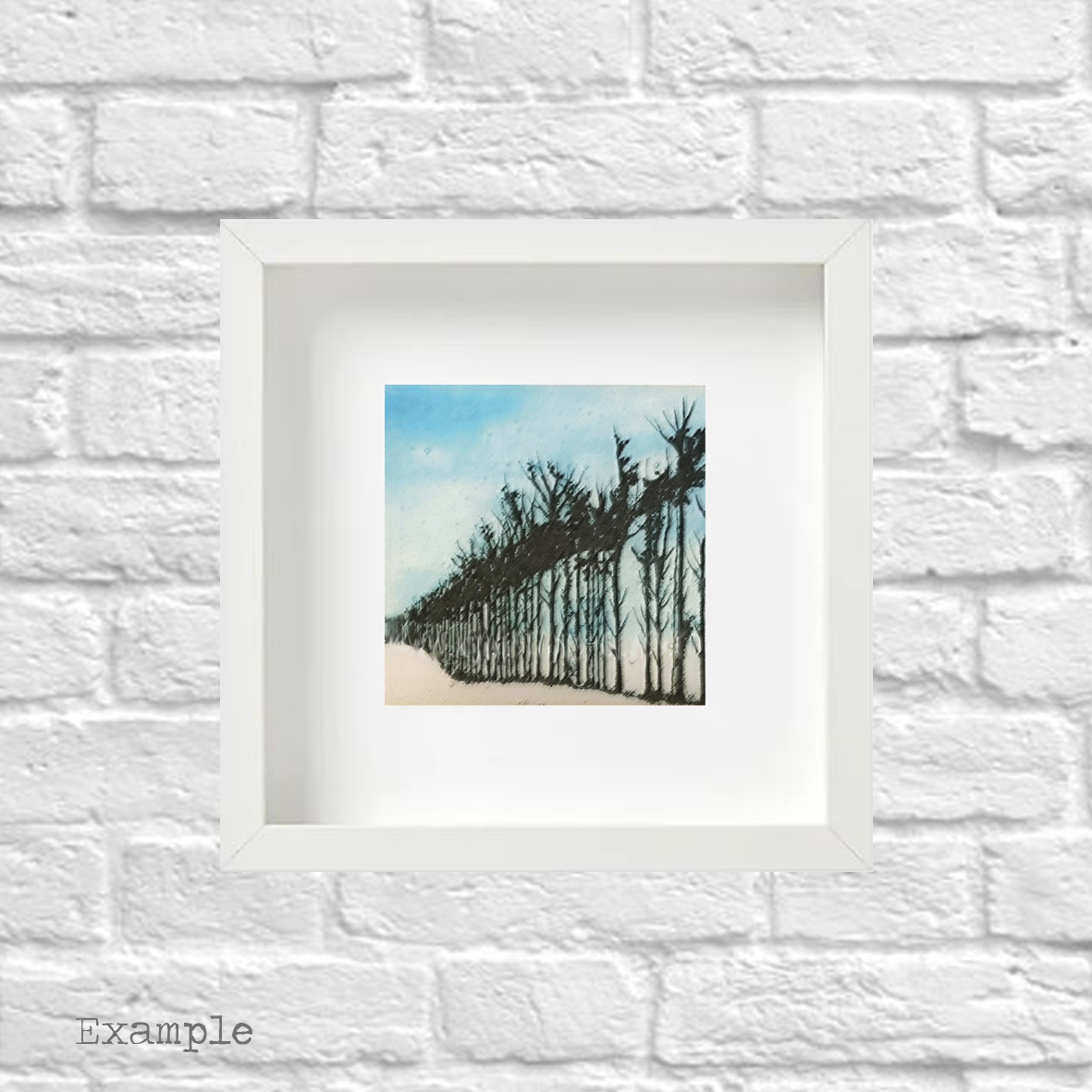PS-tree-line-small-white-frame