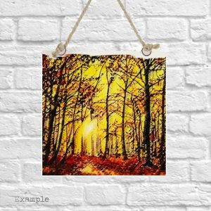 Autumn Walk <br/>Wall Hanging
