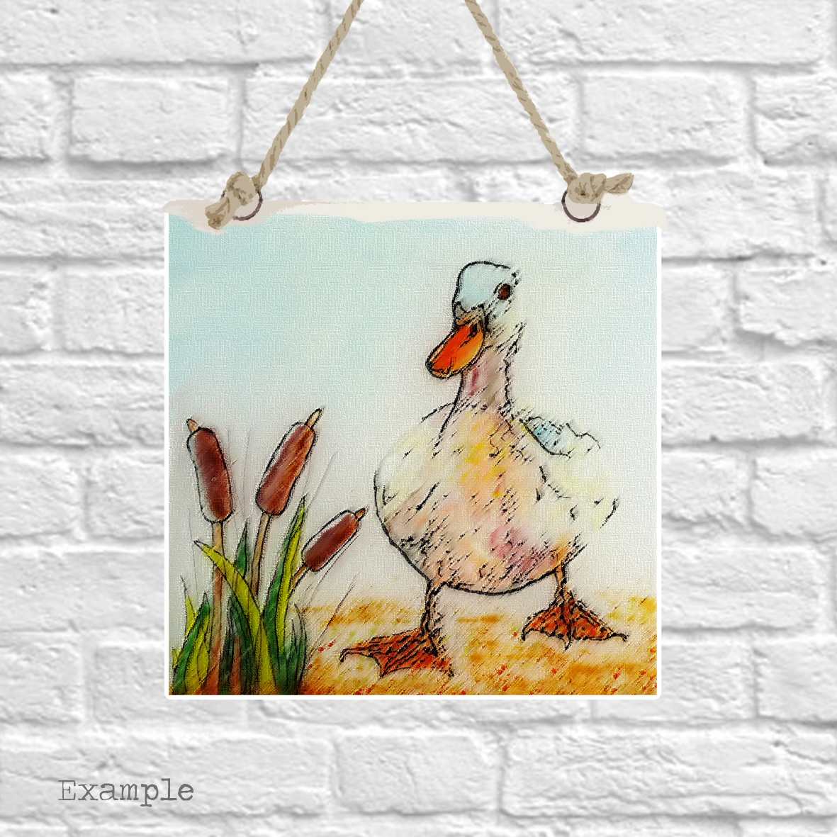 Pre-set-wall-hanging-background-duck