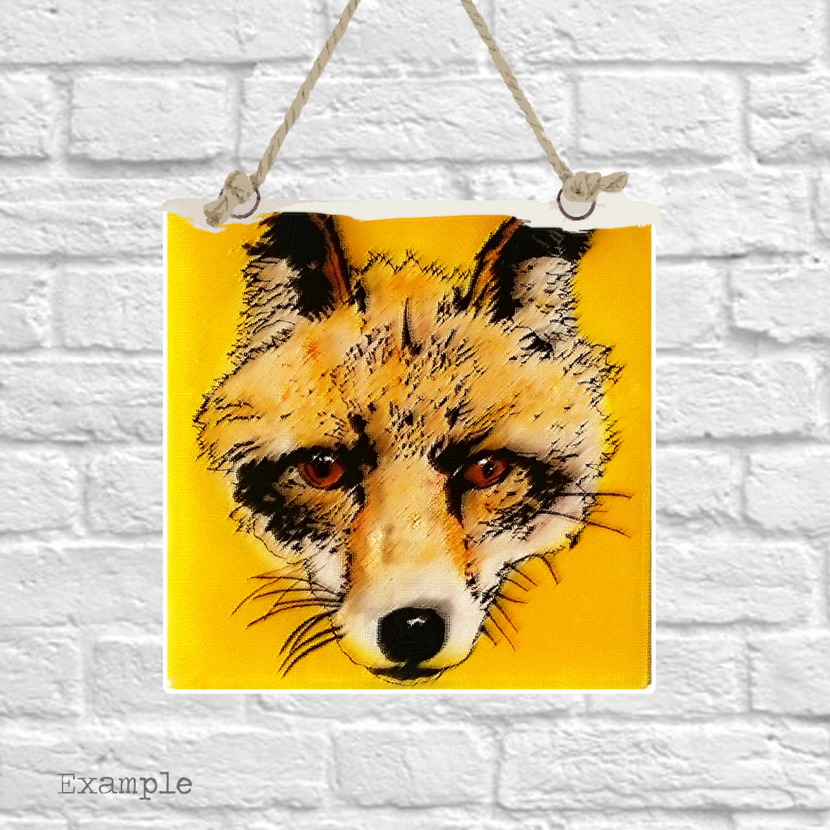 Pre-set-wall-hanging-background-fox