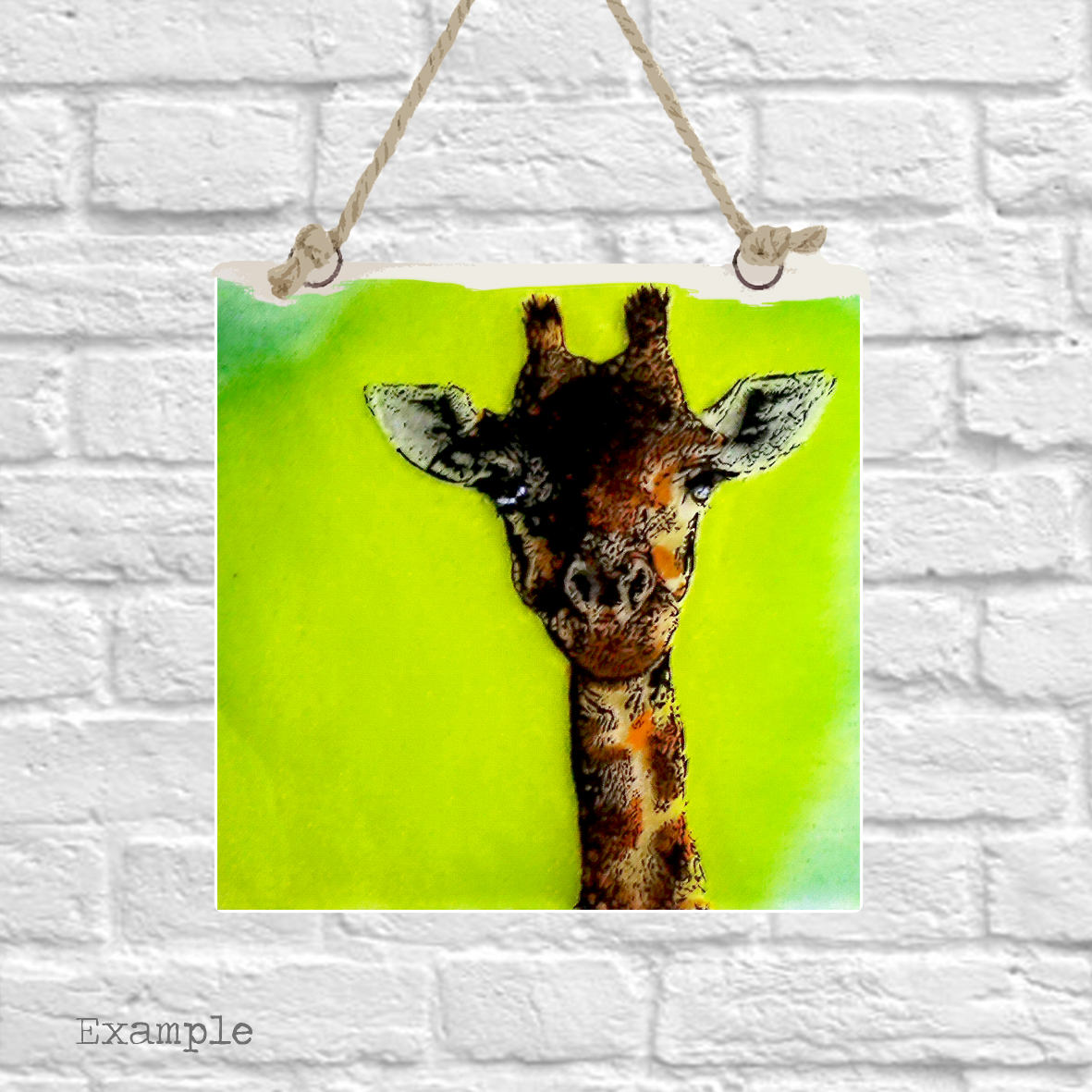 Pre-set-wall-hanging-background-giraffe