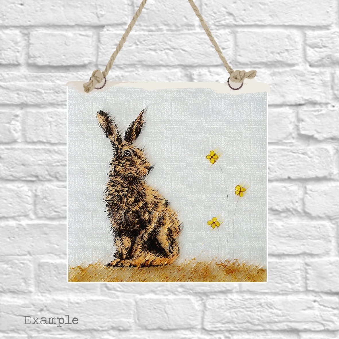 Pre-set-wall-hanging-background-hare