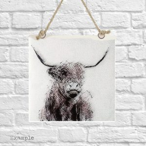 Highland Cow<br/>Wall Hanging