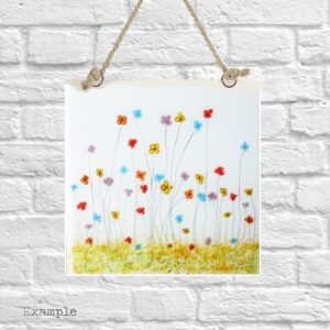 Mixed Spring Flowers<br/>Wall Hanging