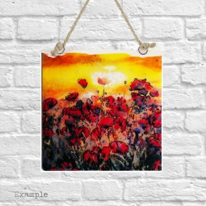 Poppy Field<br/>Wall Hanging