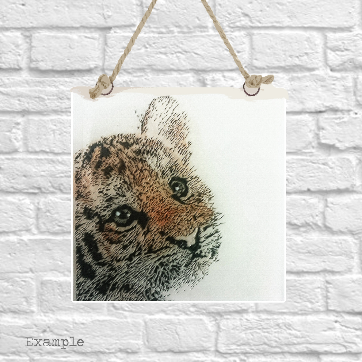 Pre-set-wall-hanging-background-tiger-cub