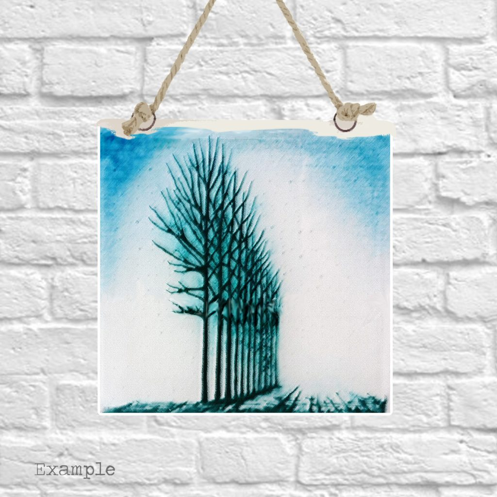 Pre-set-wall-hanging-background-tree-grove