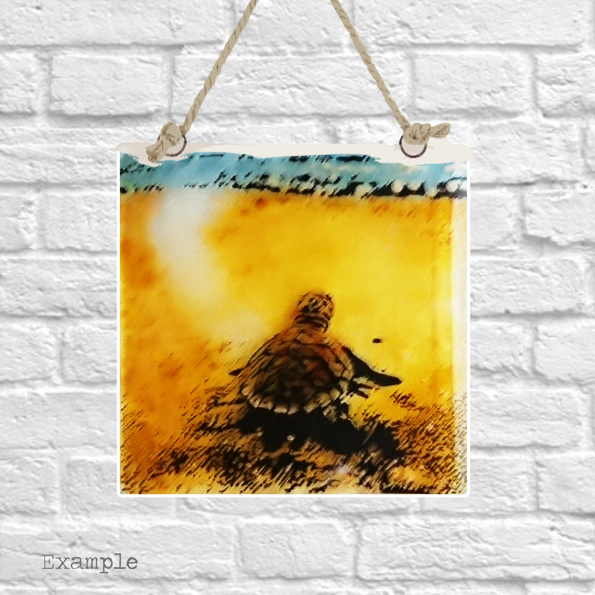 Pre-set-wall-hanging-background-turtle