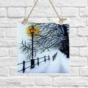 Winter Walk<br/>Wall Hanging