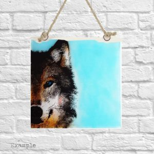 Wolf<br/>Wall Hanging