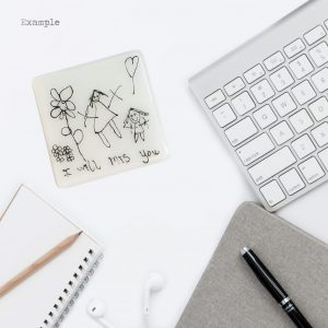 Kids Drawing<br/>Coaster