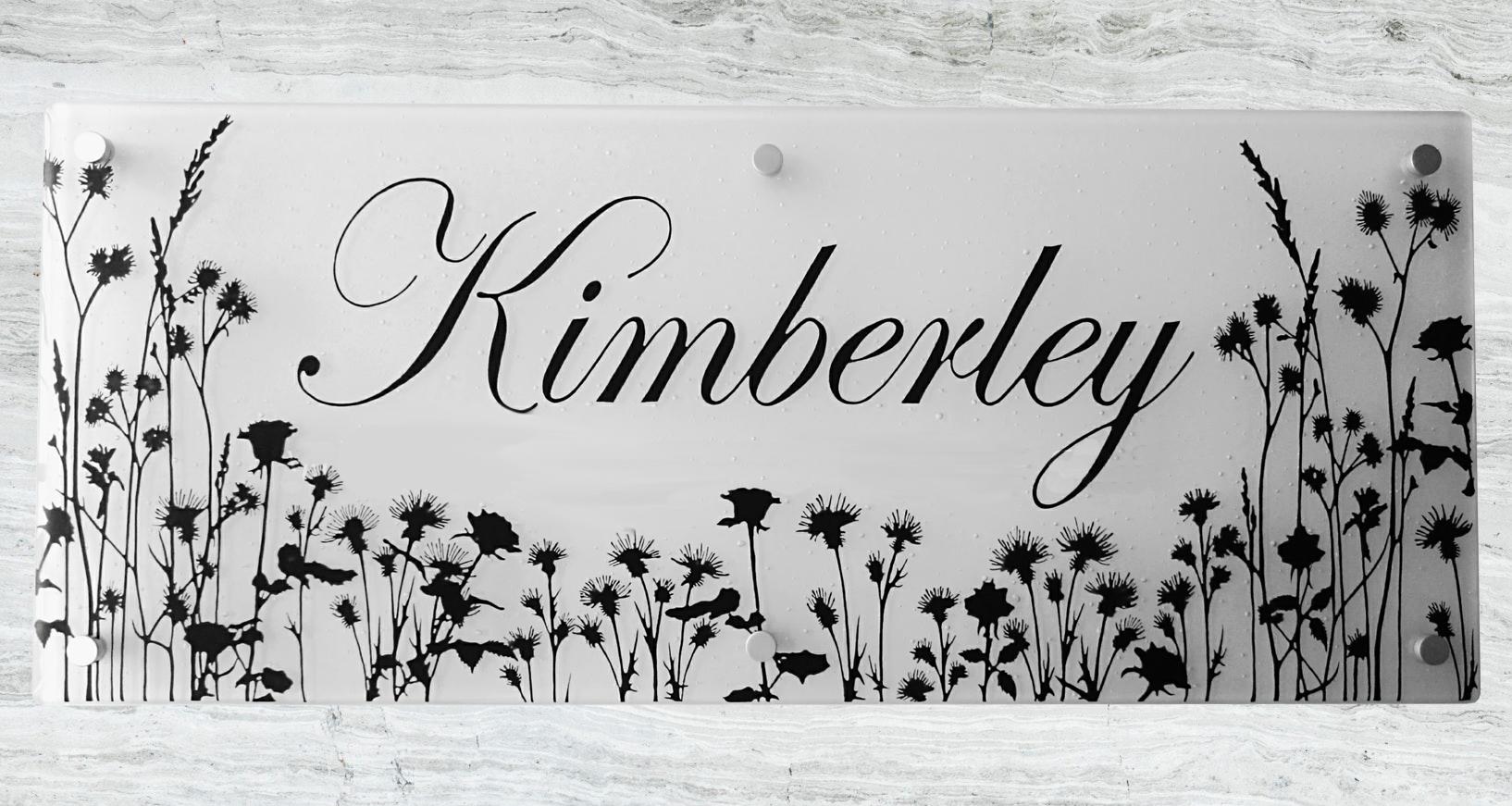 House plaque-Kimberley