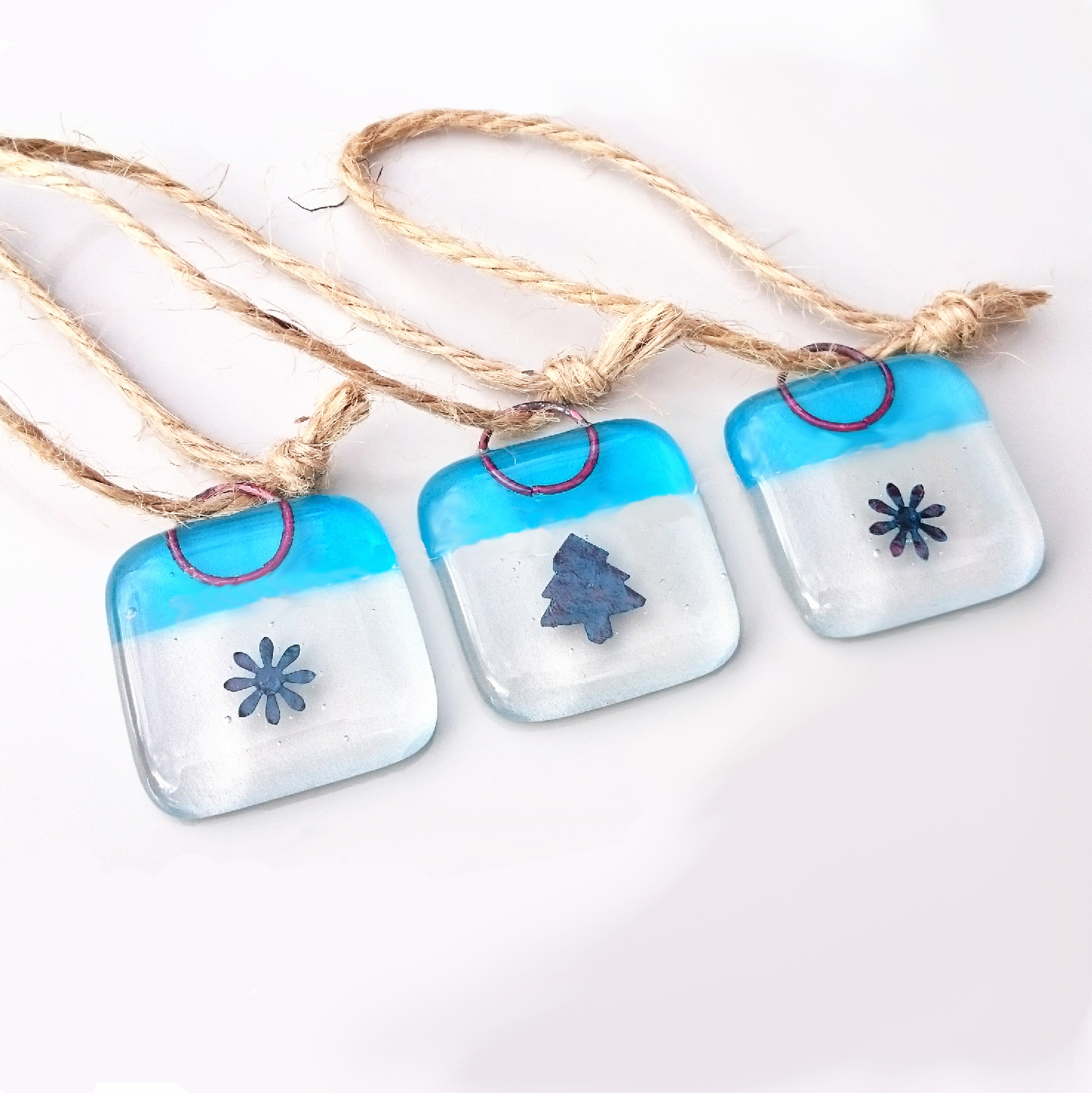 Blue-copper-christmas-decs