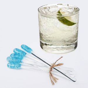 Gin Stirrers<br/>Blue Bubble
