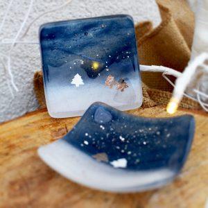 Dish<br/>Little Snow Scene