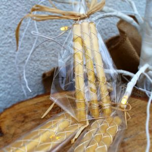 Gold Icicle<br/>Decorations