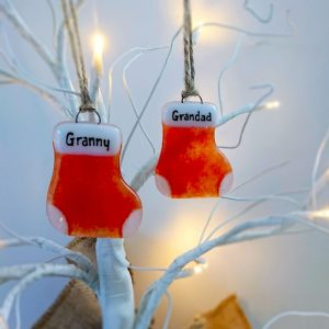 Personalised Stocking<br/>Decorations